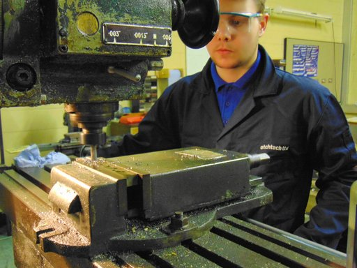tool making for forming photo etch components in our fully equipped tool room at etch tech
