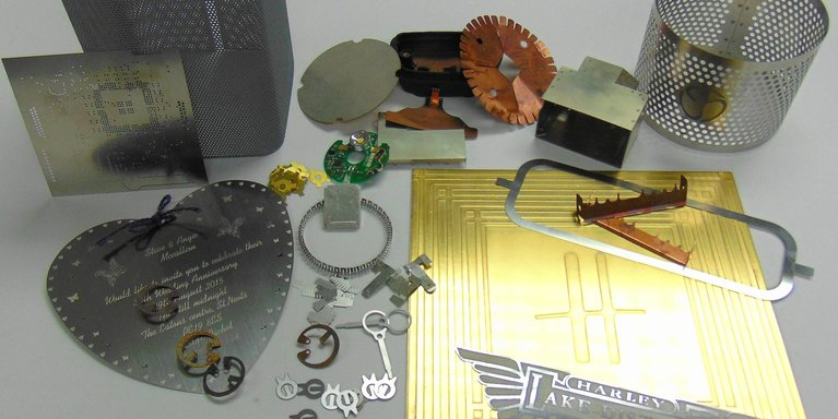 Chemically etch components by Etch Tech Ltd.
