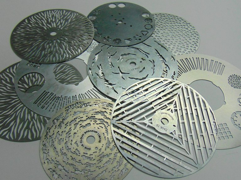 Chemically etched aluminum by Etch tech taking advantage of using the right chemistry to etch Aluminum.