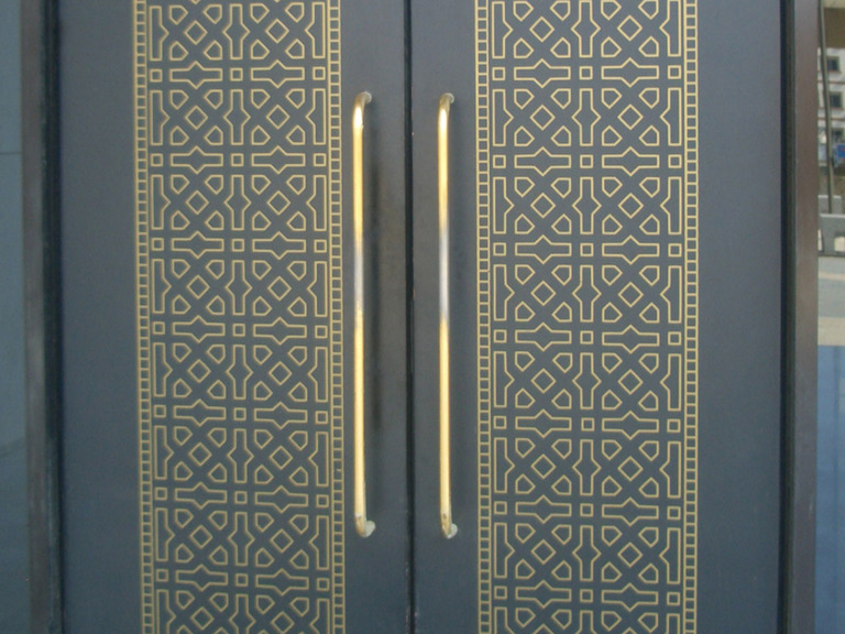 Chemically etched decorative panels, from our Architectural range