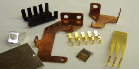 parts that have been manufactured by the rapid processing methods used by photofabrication
